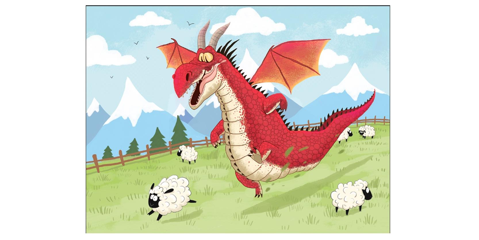 Artus le dragon berger