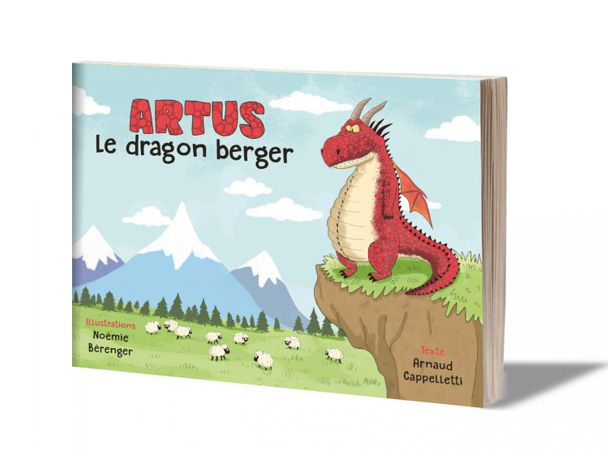 Artus le dragon berger